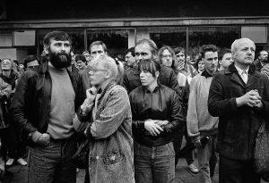 4. November 1989, Berlin Alexanderplatz